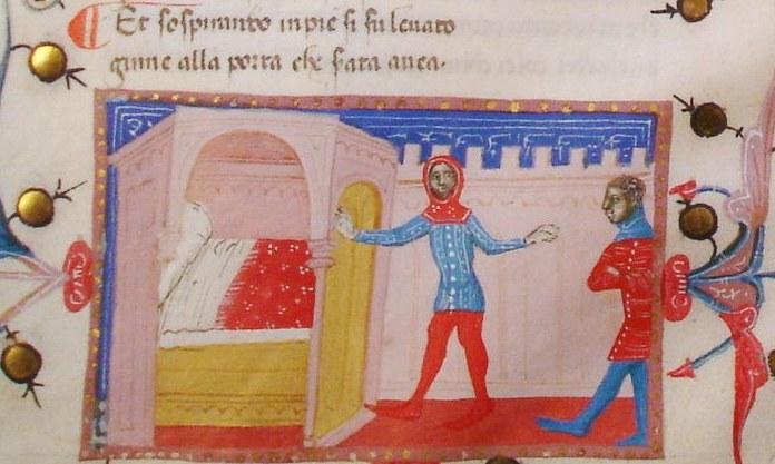Giovanni Boccaccio: Il Filostrato (Codex Christianei)