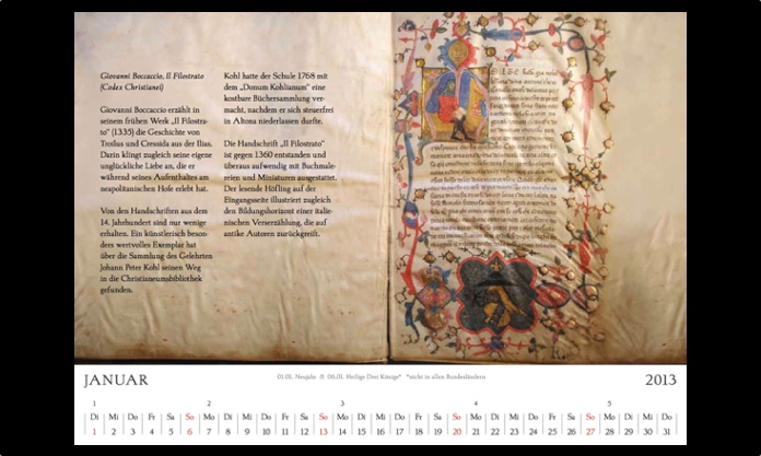 Kalender 2013 Januar