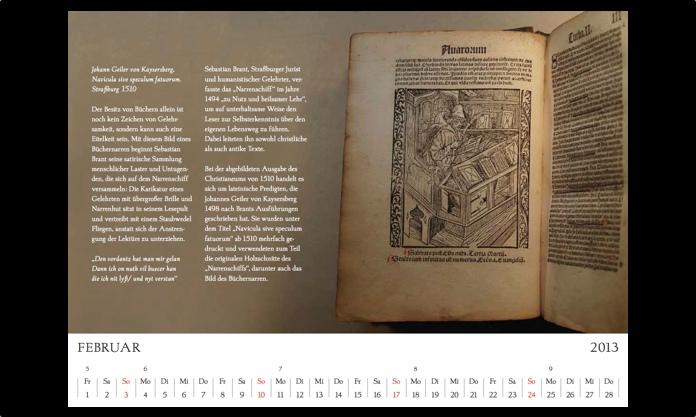 Kalender 2013 Februar