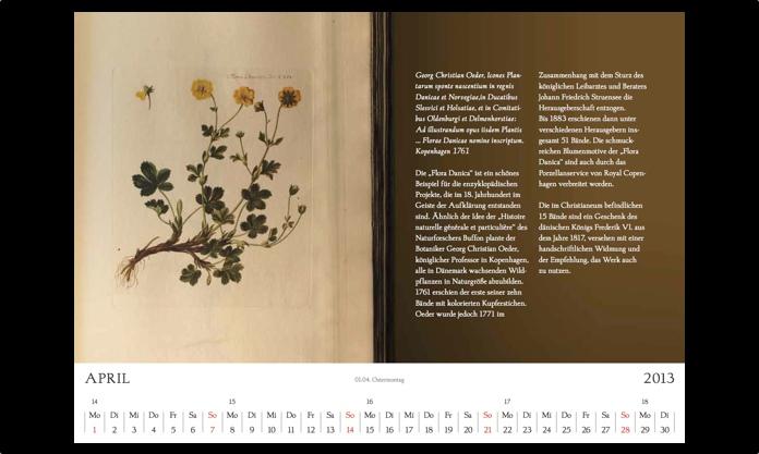 Kalender 2013 April