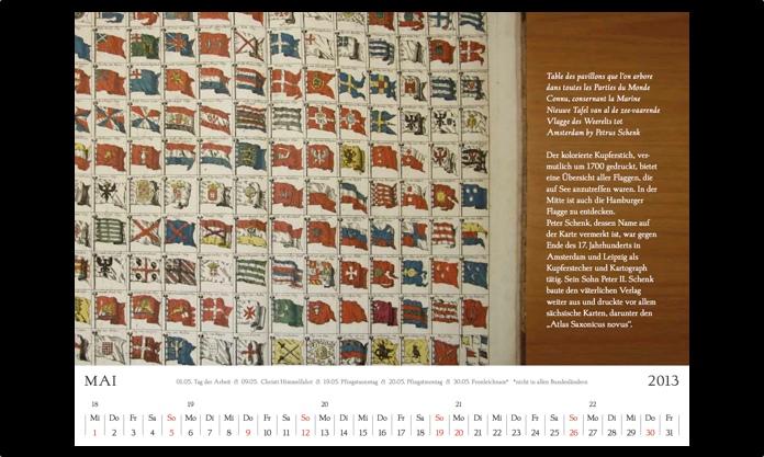 Kalender 2013 Mai