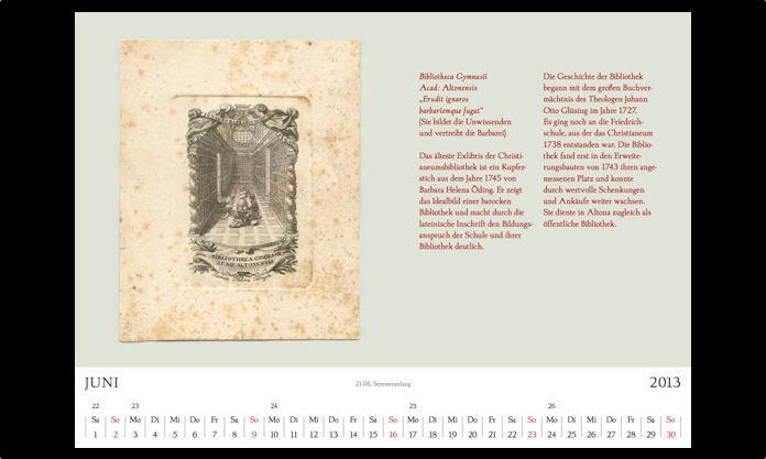 Kalender 2013 Juni
